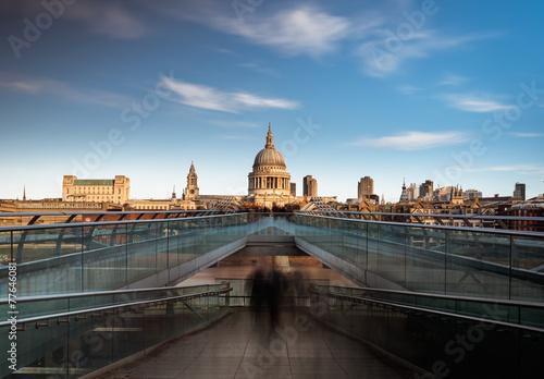 Fotografía  St Pauls Puente de Londres