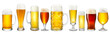 canvas print picture - fresh beer collection