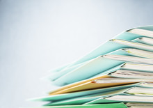 Files.Pile Of Document Close U...