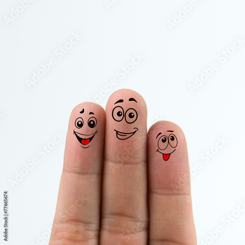 Happy fingers Canvas-taulu