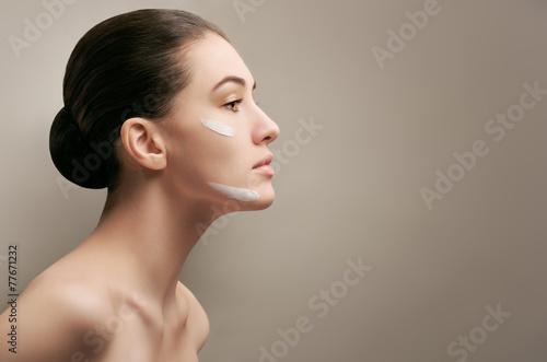 Obraz healthy face - fototapety do salonu