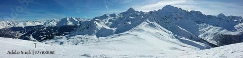 Fotografie, Obraz  Panorama alpino