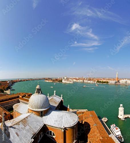 Fototapety, obrazy: Aerial Venice