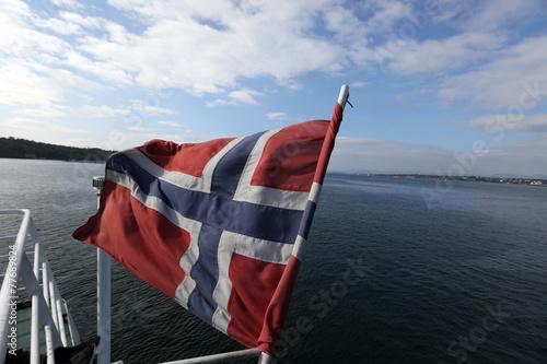bandiera norvegia Poster