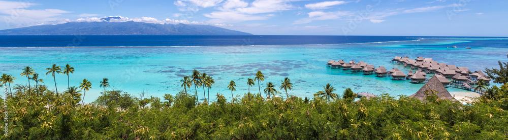 Fototapety, obrazy: Lagon panoramique - Moorea
