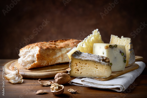 Photographie  Divers fromages