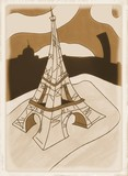 Fototapeta Fototapety Paryż - Tour Eiffel