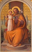 Vienna - St. Joseph Paint In The Church Muttergotteskirche
