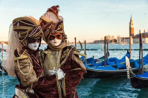 Vászonkép Carnevale Venezia