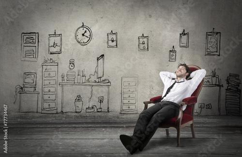Fotografía  Relaxed businessman