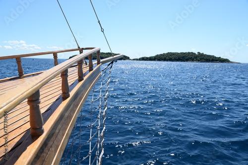 Foto  Bootsfahrt bei Rovinj