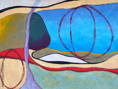 sztuka-wspolczesna-obraz-z-ciekawymi-ksztaltami