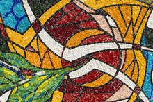 Mosaic Of The Canonica Al Lambro Church