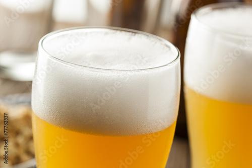 Resfreshing Golden Lager Beer Poster