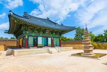 Naksansa (Korean Temple) In Sokcho, South Korea