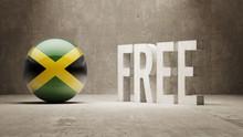Jamaica. Free  Concept.