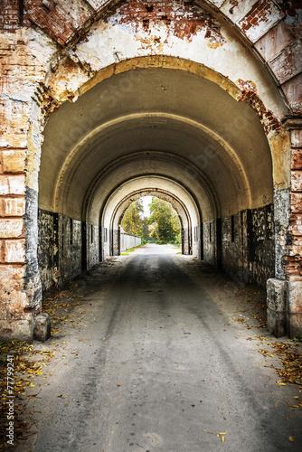 Photo  An arch