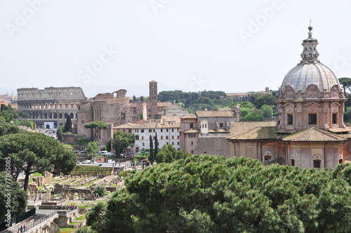 Photographie Colisé Rome