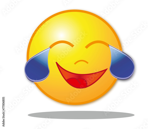 Lachender Smiley Traenen Buy This Stock Vector And Explore Similar