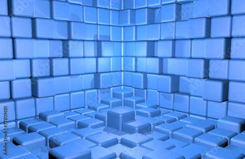 abstract-cubes-background