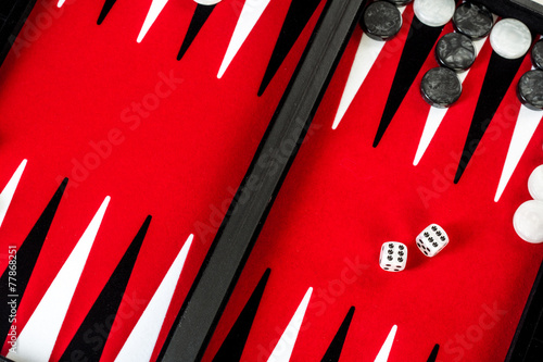 Tela backgammon