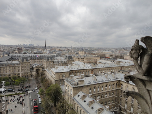 Poster Paris Notre Dame de Paris