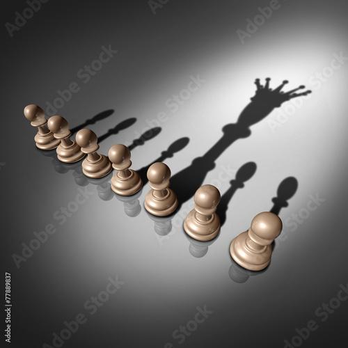 Fotografie, Obraz  Leadership Search