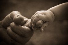 Baby Hand Holding Mother Finge...
