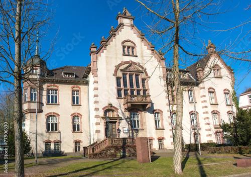 Foto op Aluminium Oude gebouw Altes Rathaus Moers