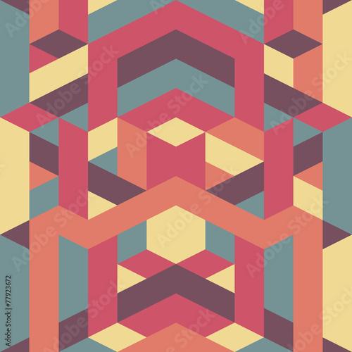 retro-wzor-geometryczny