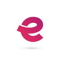Letter E Logo Icon Design Temp...