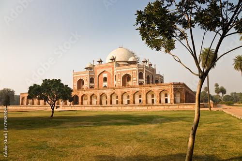 Tuinposter Delhi Humayun's tomb and garden, Delhi