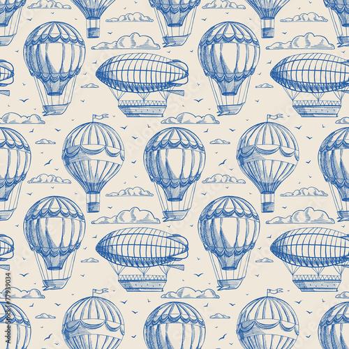 granatowe-balony-w-stylu-vintage