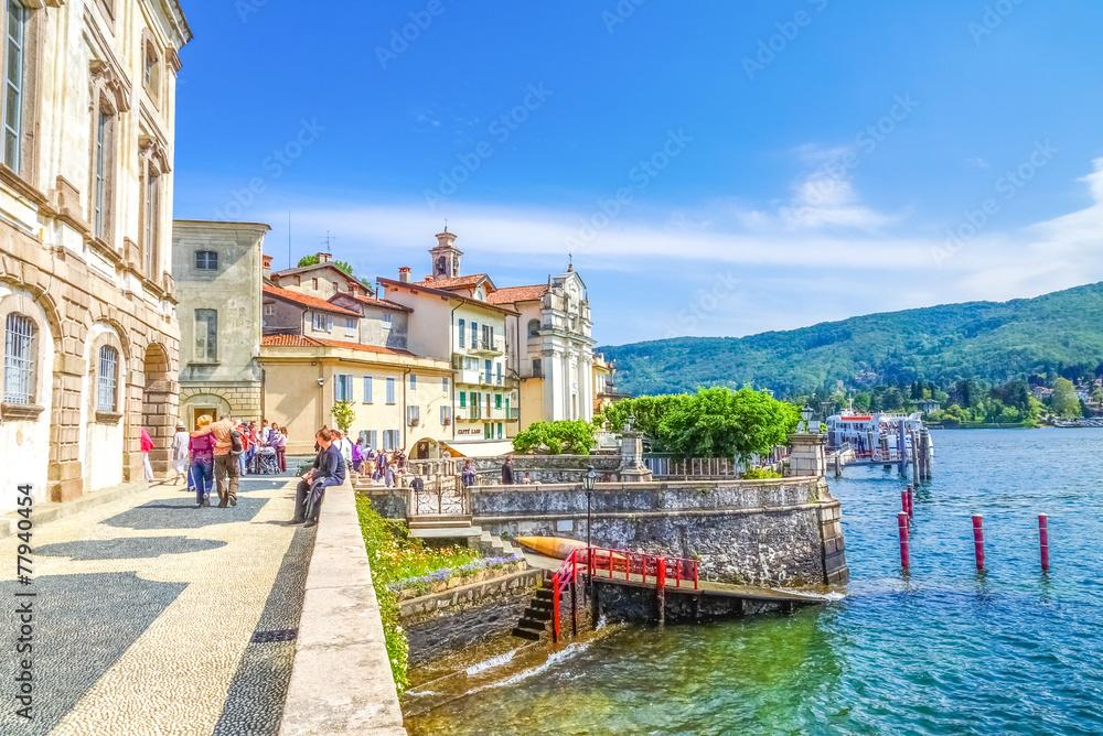 Fototapety, obrazy: Isola Bella Lago Maggiore