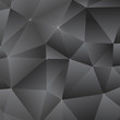 Abstract Vector Dark Triangles Background