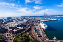 Durban Harbor Port Air Landscape