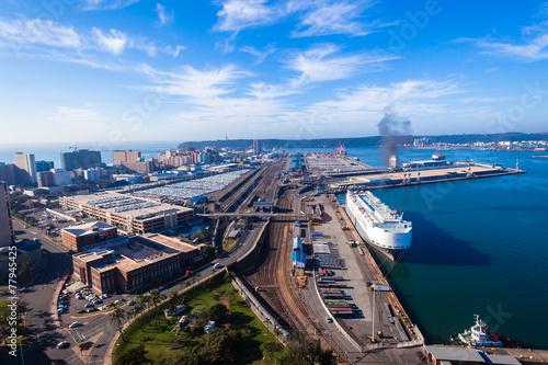 Photo Durban Harbor Port Air Landscape