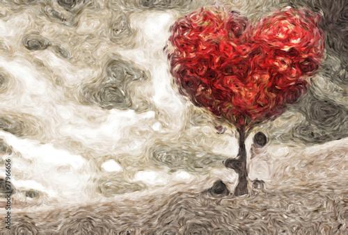 dzieci-pod-drzewem-serc