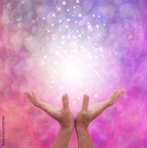 Photo Angelic Pink Healing Energy