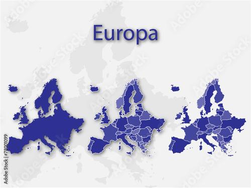 Wall Murals Form Europa und seine Länder
