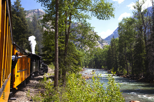 Fotografie, Obraz  Durango Silverton Railroad