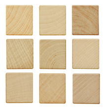 Blank Wood Scrabble Pieces Iso...