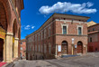 Romanesque town in Italy