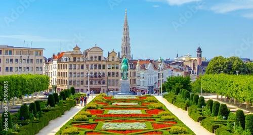 Spoed Foto op Canvas Brussel Bruxelles, Brussels, Belgium, Belgique