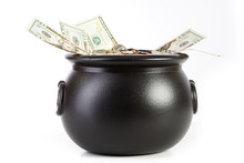 Treasure: Pot Overflowing With...