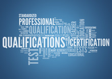 Word Cloud Qualifications