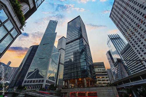 Photo  Hong Kong stree view