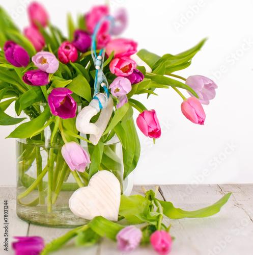 Muttertag Geburtstag Valentinstag Tulpen Duftiger Blumengruss