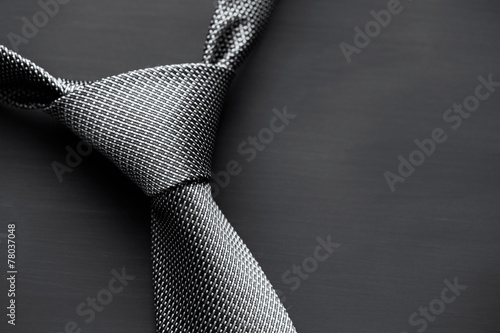 Fotografia  Dark men's tie
