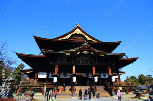 Photo Stands Temple 善光寺